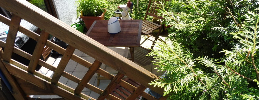 Geräumiges Apartment mit schöner Terrasse in Veitshöchheim!