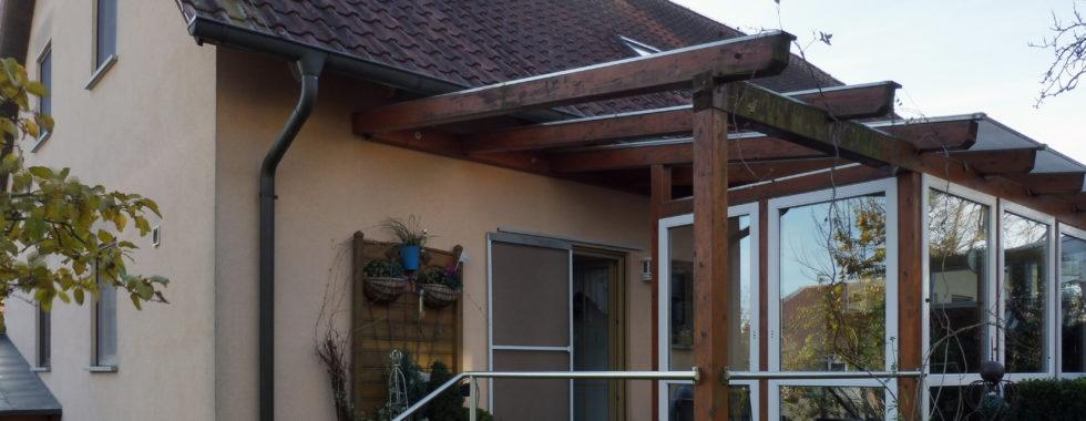 Doppelhaushälfte mit Garten und Einliegerwohnung in Biebelried OT Kaltensondheim!