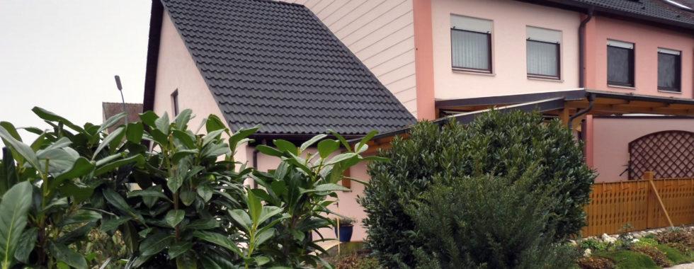 Reihenendhaus mit Terrasse und Garten in Kitzingen!