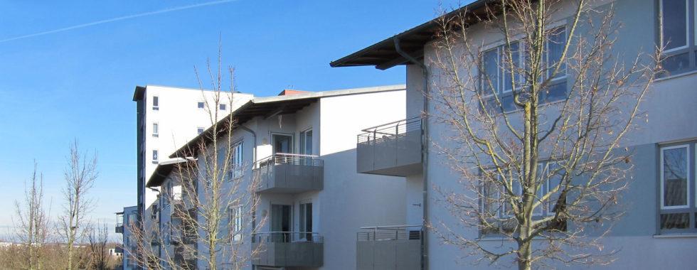 """SERVICE- WOHNEN – 2 Zimmer Apartment in Würzburg's """"MIRAVILLA"""""""